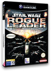 Star Wars Rogue Leader:Rogue Squadron II GameCube cover (GSWS64)