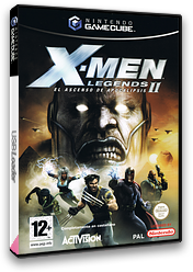 X-Men Legends II: El Ascenso de Apocalipsis GameCube cover (GX2S52)