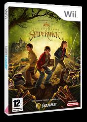 Las Crónicas de Spiderwick Wii cover (R48P7D)