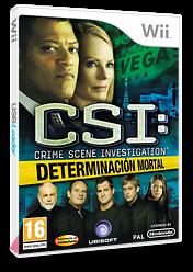 CSI: Determinación Mortal Wii cover (R5UP41)