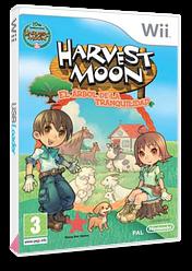 Harvest Moon: El Árbol de la Tranquilidad Wii cover (R84P99)