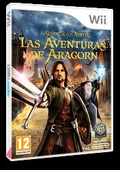 El Señor de los Anillos: Las Aventuras de Aragorn Wii cover (R8JPWR)