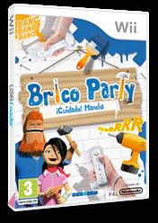 Brico Party: ¡Cuidado! Mancha Wii cover (R9EPNP)