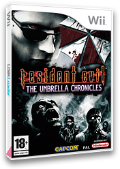 Resident Evil: The Umbrella Chronicles Wii cover (RBUP08)