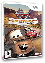 Cars: La Copa Internacional de Mate Wii cover (RC2P78)