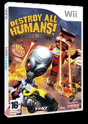 Destroy All Humans! Big Willy Desatado! Wii cover (RDHP78)