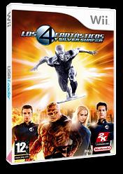 Los 4 Fantásticos y Silver Surfer Wii cover (RF2P54)