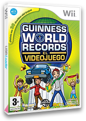 Guinness World Records: El Videojuego Wii cover (RG5PWR)