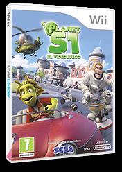 Planet 51: El Videojuego Wii cover (RGAP8P)