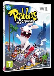 Rabbids Mi Caaasa!!! Wii cover (RGWX41)
