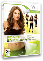 Fitness Ultimatum 2009 con Jillian Michaels Wii cover (RJFPKM)