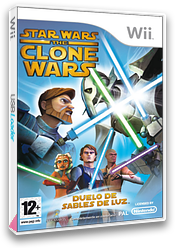 Star Wars: The Clone Wars - Duelo de Sables de Luz Wii cover (RLFP64)