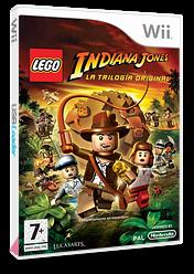 LEGO Indiana Jones: La Trilogía Original Wii cover (RLIP64)