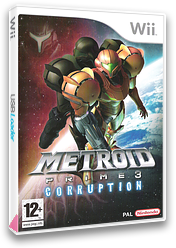 Metroid Prime 3: Corruption Wii cover (RM3P01)