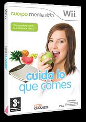 Cuerpo, Mente y Vida: Cuida lo que Comes Wii cover (RNIPGT)