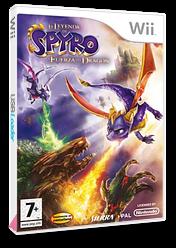 La Leyenda de Spyro: La Fuerza del Dragón Wii cover (RO8P7D)