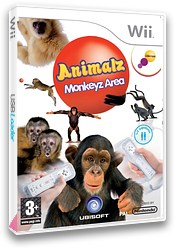 Animalz: Monkeyz Area Wii cover (RP6P41)