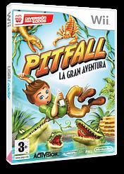 Pitfall: La Gran Aventura Wii cover (RPFP52)