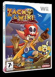 Zack & Wiki: En Busca del Tesoro de Barbaros Wii cover (RTZP08)
