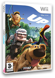 Up: El videojuego Wii cover (RUQP78)