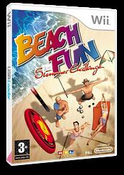 Beach Fun: Summer Challenge Wii cover (RV8PRT)