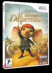 El Valiente Desperaux Wii cover (RXRXRS)