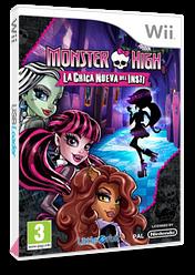 Monster High: La Nueva Chica Del Insti Wii cover (S5MPVZ)