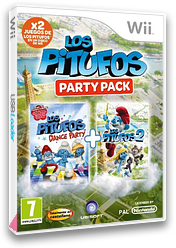 Los Pitufos Party Pack Wii cover (S7SP41)