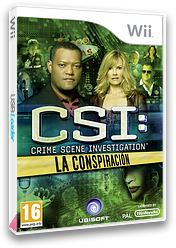 CSI:La Conspiración Wii cover (SCIP41)