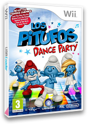 Los Pitufos: Dance Party Wii cover (SDUP41)