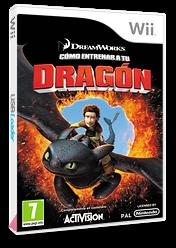 Cómo Entrenar a Tu Dragón Wii cover (SHDP52)