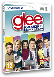 Karaoke RevolutionGlee Volume 2 Wii cover (SKGPA4)