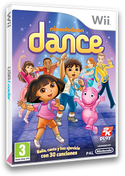 Nickelodeon Dance Wii cover (SNLX54)
