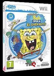 Bob Esponja:El Garabato Wii cover (SS8P78)