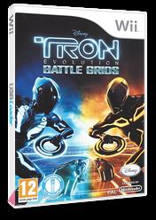 Tron: Evolution - Battle Grids Wii cover (STRP4Q)