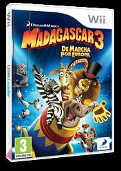 Madagascar 3: de Marcha por Europa Wii cover (SV3PAF)
