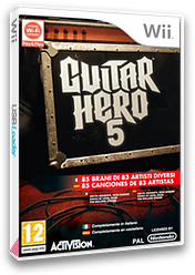 Guitar Hero 5 Wii cover (SXEP52)