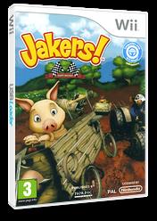 Jakers! Kart Racing Wii cover (SJ3PNL)
