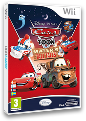 Cars Toon: Mater's Tall Tales Wii cover (STOX4Q)