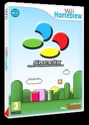 SNES9xGX pochette Homebrew (9XGX)