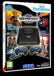 Genesis Plus pochette Homebrew (DGPA)