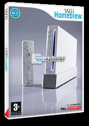 WiiXplorer pochette Homebrew (DWXA)