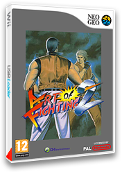 Art of Fighting 2 pochette VC-NEOGEO (EALP)
