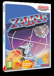Xevious pochette VC-NES (FASP)
