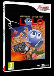 Adventures of Lolo pochette VC-NES (FBUP)