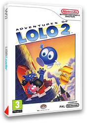 Adventures of Lolo 2 pochette VC-NES (FD6P)