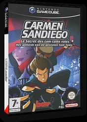 Carmen Sandiego:Le Secret des Tam-Tams Volés pochette GameCube (G3DP6L)