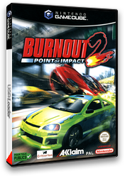 Burnout 2: Point of Impact pochette GameCube (GB4P51)