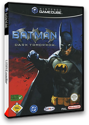 Batman: Dark Tomorrow pochette GameCube (GBMP7F)
