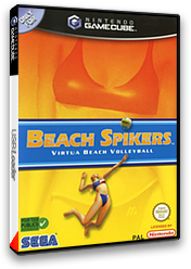Beach Spikers: Virtua Beach Volleyball pochette GameCube (GBSP8P)
